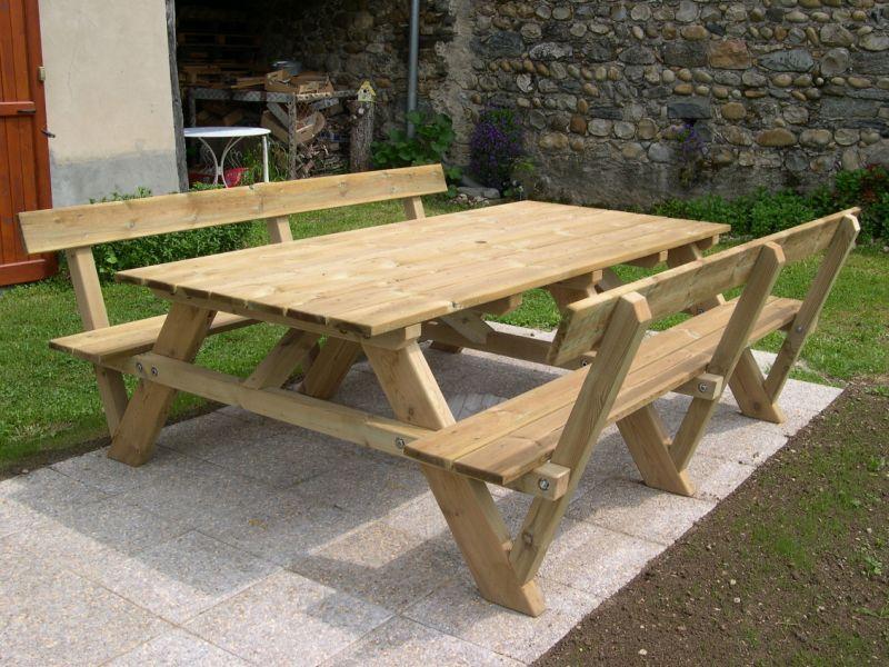 Kerti b torok s rpadok - Plan pour fabriquer une table de jardin en bois ...