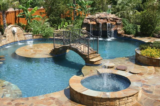Medenc k s t rsaik for Innovative pool design king s mountain